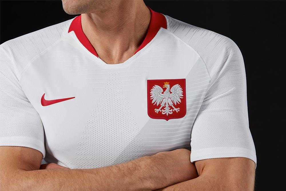 e7265c838 Nike drops 2018 Poland World Cup home and away kits