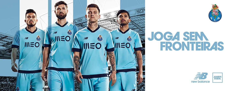 4785ad63313 2017-18 New Balance FC Porto Third Jersey
