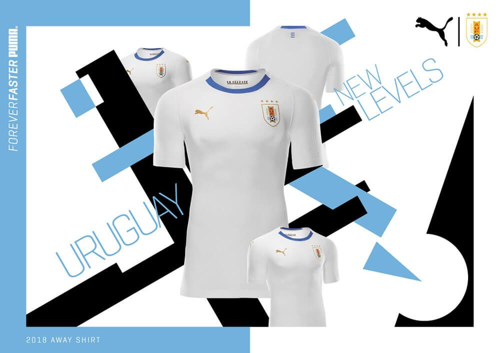 bb99102368f PUMA reveals white 2018 World Cup and national team kits